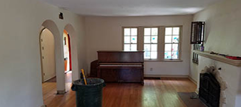 Wood Floors Before