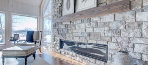 Expansive Fireplace